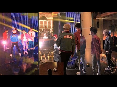 BTS behind the scene footages @latelateshow #WelcomeToUSBTS