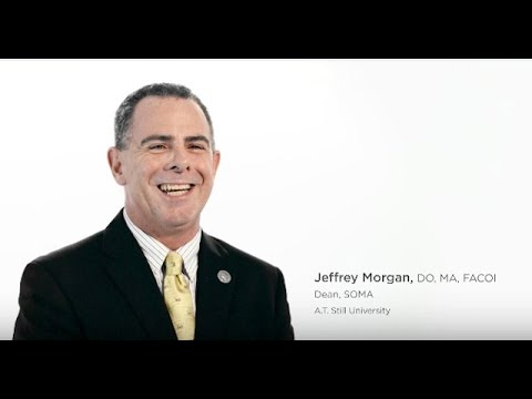 School of Osteopathic Medicine Arizona, ATSU | Jeffrey Morgan, Dean