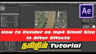 How to Render h264 (mp4 Format) Small Video Size in After effects using Media Encoder
