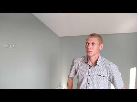 Натяжные потолки в доме. В зале и трёх комнатах с мансардой. Город Киржач.