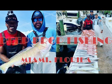 Deep Drop Fishing In South Florida. Limiting Out On Tilefish And Snapper!!