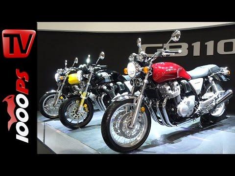 Honda CB1100 RS und CB1100 EX 2017 - Neuerungen, Technische Daten