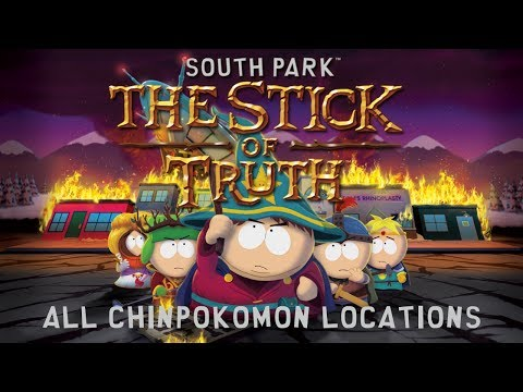 South Park: The Stick Of Truth - All Chinpokomon Locations (Chinpokolypse Trophy / Achivement Guide)