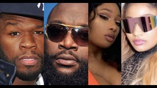 50 Cent Tells Rick Ross 'You aren't hot and you're trying', Nicki Minaj Megan Thee Stallion Collab