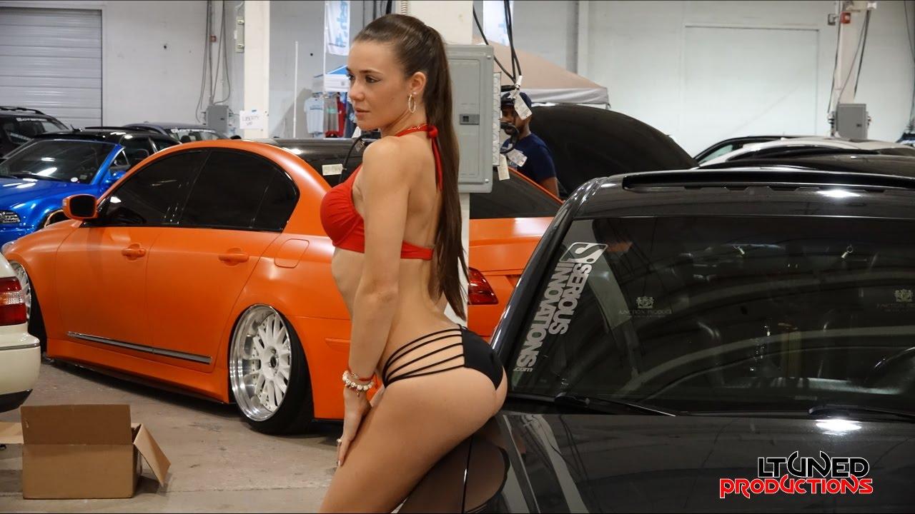 Import Tuner Girl Wallpaper Bikini Contest Tuner Evolution 2014 Youtube