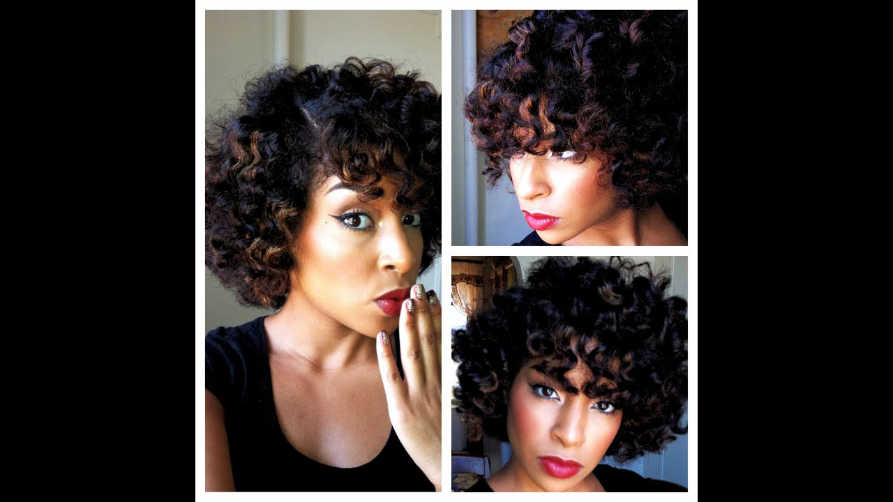 Bantu Knots On Natural Curly Hair