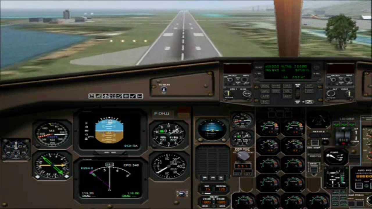 Air Tahiti FSX Atr 42-500 Flight ( Raiatea