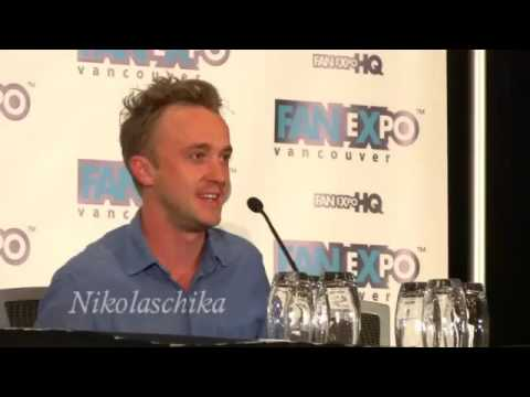 Fan Expo Vancouver 2014-Tom Felton Panel