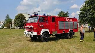 Pożar Lasu Kuźnia Raciborska , Alarmowo 7 Zastepów PSP i OSP + Dromader