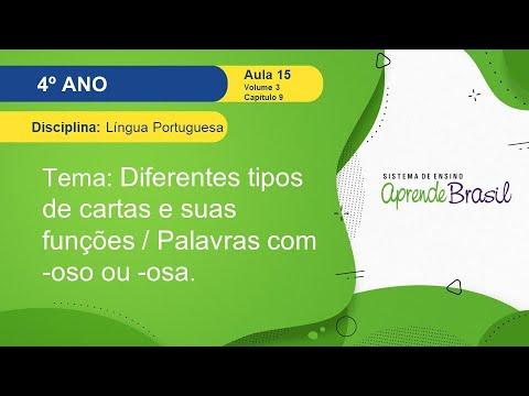 Download 4° ano - Língua Portuguesa - Volume 3 - Diferentes tipos de cartas e suas funções