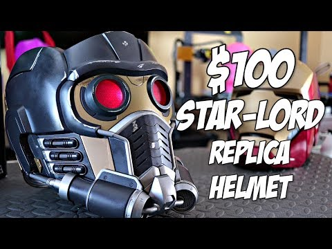 $100-star-lord-replica-helmet-review-|-hasbro-toys-legendary-series-replica-prop
