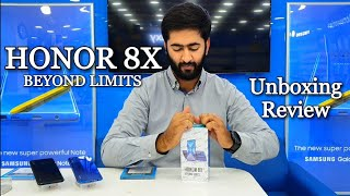 Honor 8X Unboxing and Review | Hindi | Urdu Pakistan Mid-range Power!