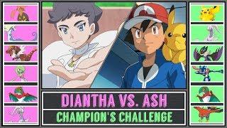 Ash vs. Diantha (Pokémon Sun/Moon) - Champion