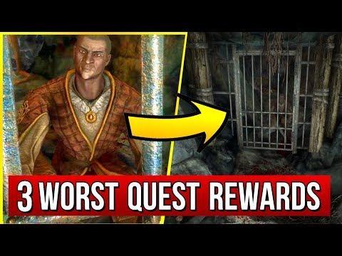 Skyrim - 3 WORST Quest Rewards I Hope You NEVER Got!