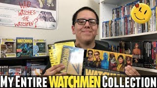 My Entire Watchmen Collection