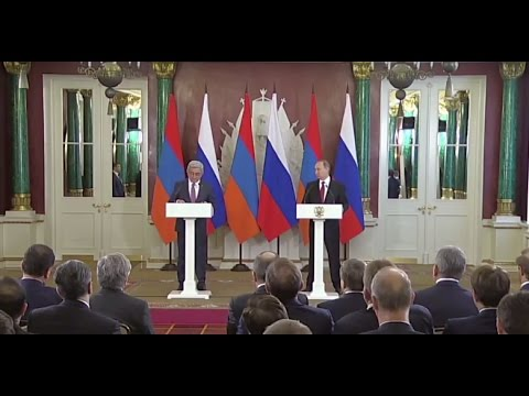 Putin: Russia is Armenia's leading economic partner (FULL PRESS CONFERENCE)