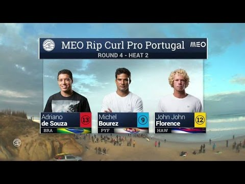 Meo Rip Curl Pro Portugal: Round Four, Heat 2