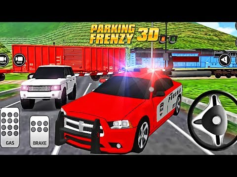 Parking Frenzy 3D Simulator | Driving Academy 3D Police Car | Racing Cars Videos For Kids #6