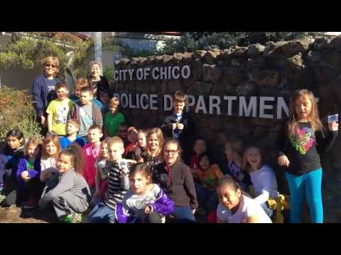 Chico Police Host Students of Neal Dow Elementary School