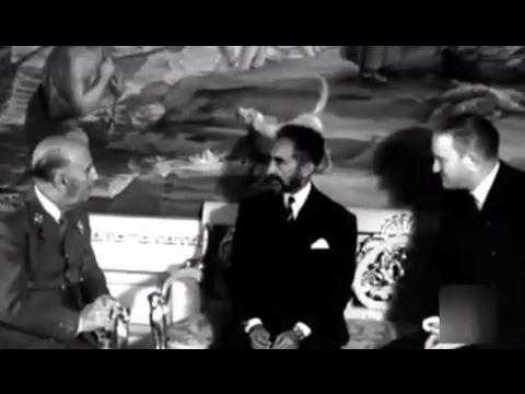 1963 Visita a España del Emperador de Etiopía Haile Selassie - El Escorial - Valle de los caídos