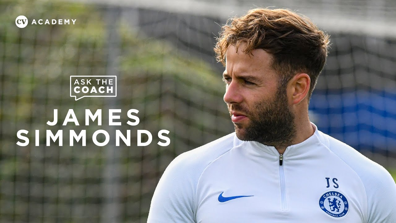 James Simmonds Chelsea U18   Glenn Hoddle, Mason Mount and beating a low block   Ask the Coach - YouTube