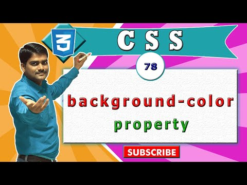 how to add background color in css