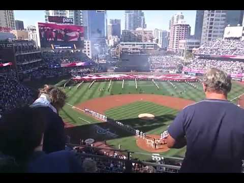 Opening Day 2016 at Petco Park
