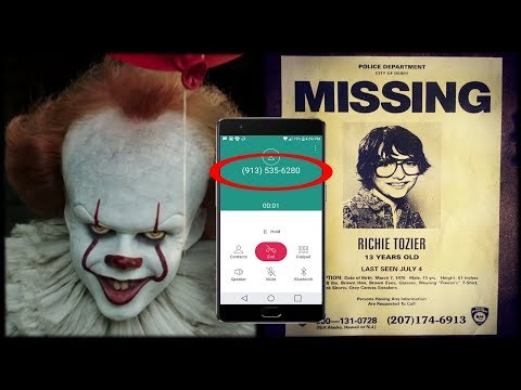 """The Haunted Telephone Number from """"IT"""" - Real Audio"""