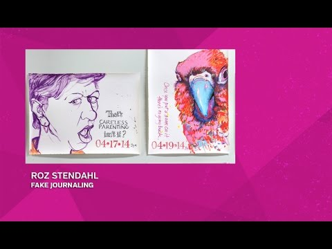 THE DESIGN RECHARGE SHOW: Roz Stendahl // Fake Journaling