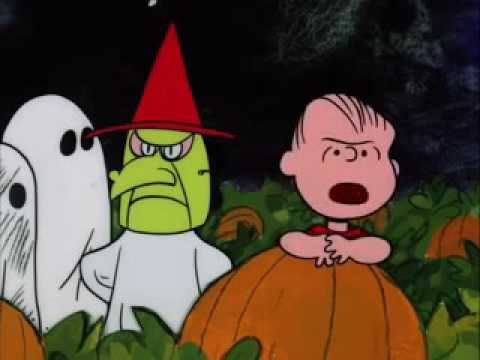 its the great pumpkin charlie brown youtube