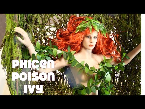 Custom Phicen Poison Ivy DC Figure Danoby2 review not Hot Toys