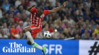 'I don't think limits': Usain Bolt looks ahead to professional football with Mariners