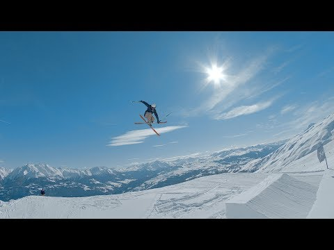 Drone Racing meets Freeskiing - DCL at Freestyle Ski- and Snowboardpark LAAX