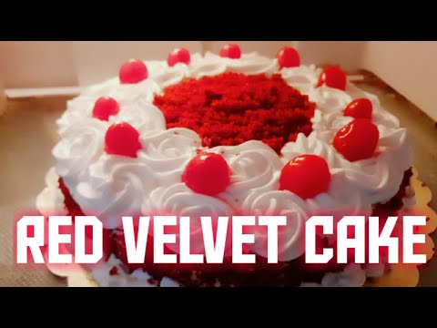 How to make Red Velvet Cake /No food colour, Without oven /ABI'S KITCHEN