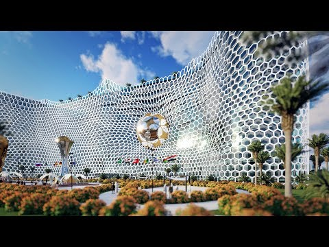 Qatar - 2022 World CUP  - The concept-project of the hotel 'Winners'!