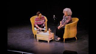 Angela Davis and Jackie Kay