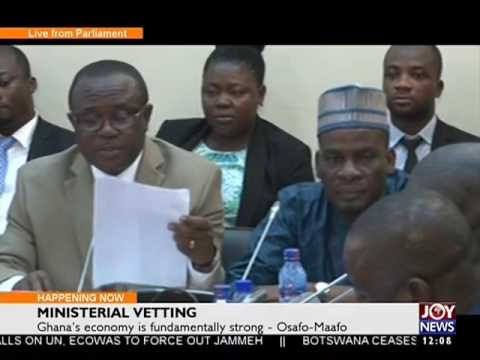 Ghana's Economy is Fundamentally Strong - News Desk on Joy News (20-1-17)