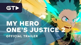 My Hero One's Justice 2 - Official Character Trailer #2