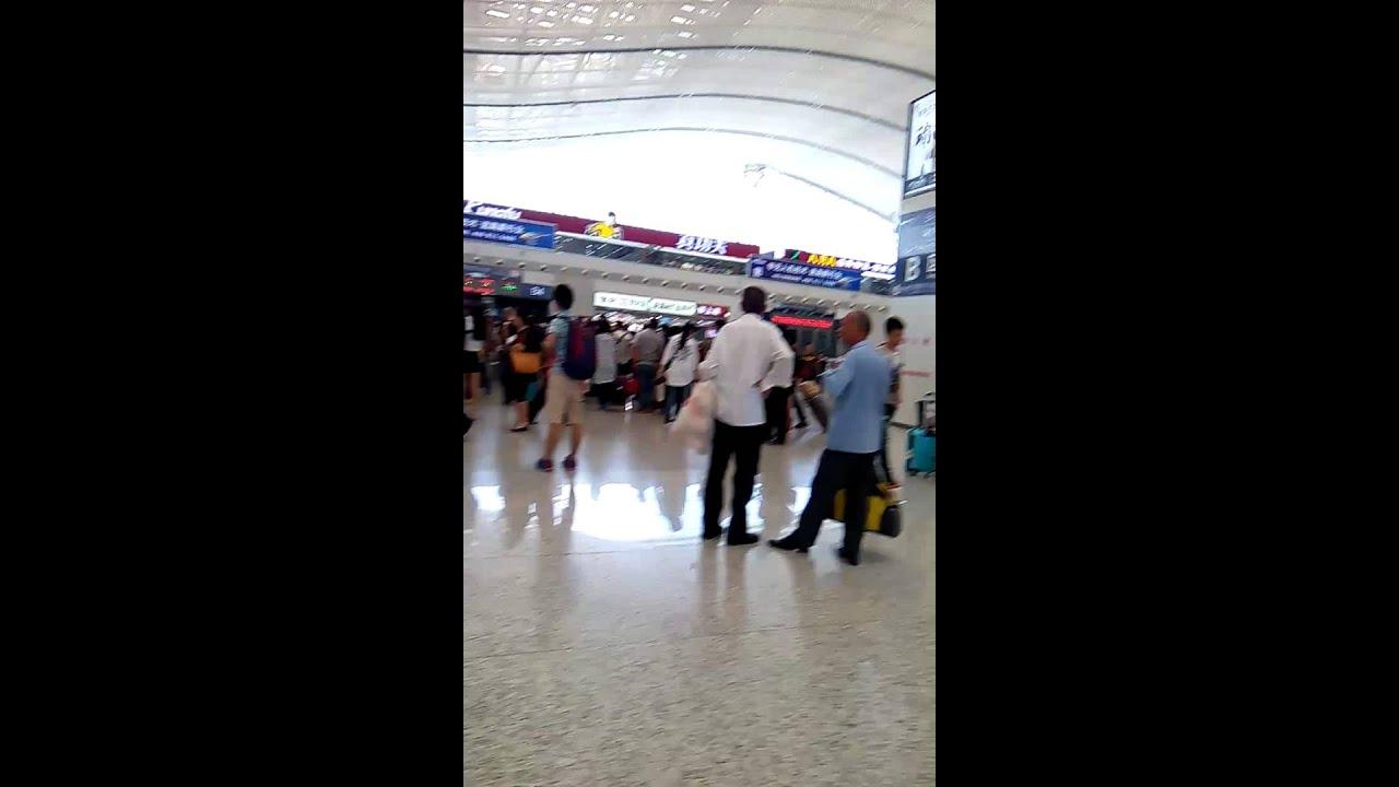 深圳北站高鐵站.和諧號2016 - YouTube