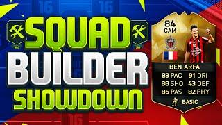 FIFA 16 SQUAD BUILDER SHOWDOWN!!! THIRD INFORM BEN ARFA!!! The Best 5 Star Skiller On Fifa 16