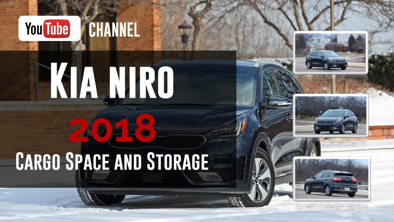 2018 kia niro cargo space and storage review youtube. Black Bedroom Furniture Sets. Home Design Ideas