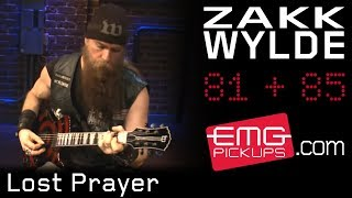 "Zakk Wylde plays ""Lost Prayer"" on EMGtv"