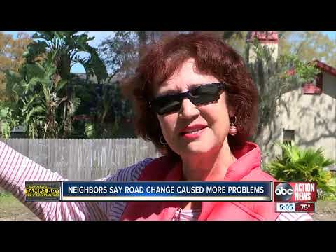 Pinellas County residents say traffic fix brought new problems to Belcher Drive