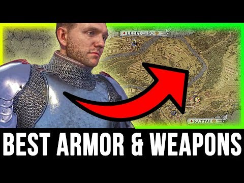 Kingdom Come Deliverance - Best ARMOR & WEAPONS Location (Secret Treasure Chest Guide)