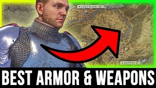 kingdom come deliverance best armor weapons location secret treasure chest guide