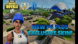 NEW PS PLUS EXCLUSIVE SKIN! | Fortnite Battle Royale (#1 PS4 FORTNITE PLAYER)