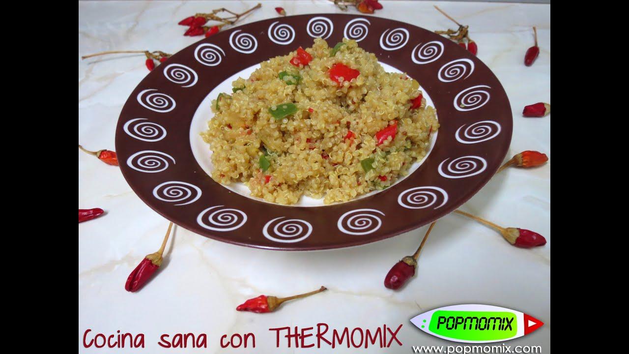 Quinoa con verduras cocina sana con thermomix video for Cocina quinoa con verduras