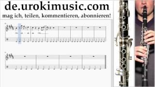 Klarinettenunterricht Mo-Torres, Cat Ballou & Lukas Podolski - Liebe deine Stadt Noten Lernen Teil