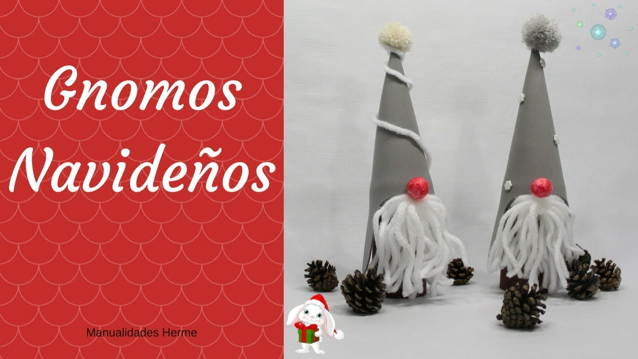 Gnomos navide os youtube for Gnomos navidenos