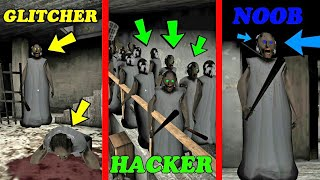 GLITCHER VS HACKER VS NOOB IN GRANNY